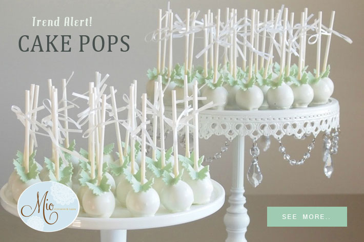 Bride.Canada: Wedding Trend : Cake-Pops for your Guests & Favours