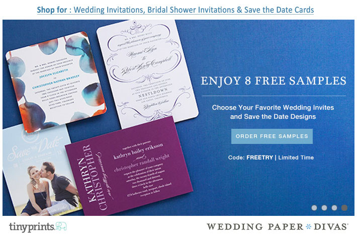 Wedding paper Divas : Free Invitation Samples