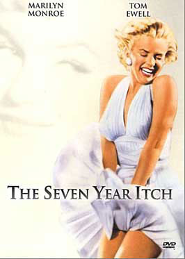 Marilyn Monroe's white halter dress in the Seven-Year Itch