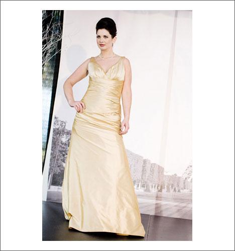 Caroline Calvert bridal gown: Janice