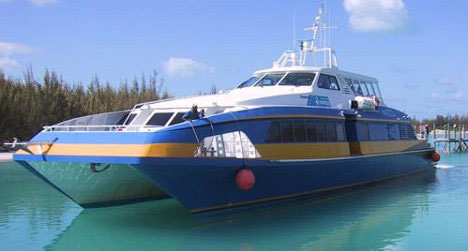 Ferry to your Bahaman Honeymoon