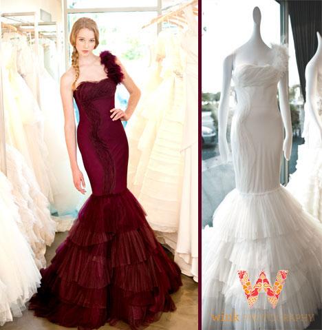 Kaye - Vera Wang Spring 2013 wedding collection