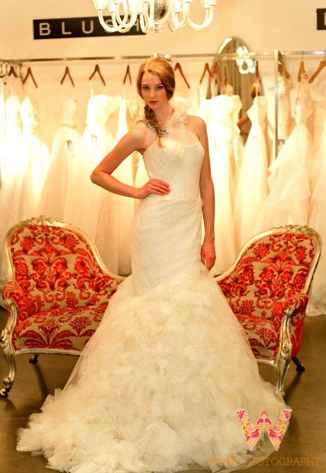 Kylie - Vera Wang Spring 2013 Bridal Collection
