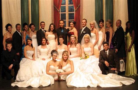 Calgary Wedding Fair fashion show