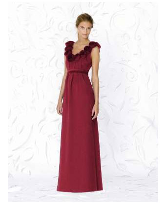 Dela Rose bridesmaids dress by Dessy