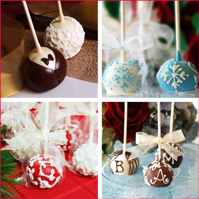 Wedding Cake Pops @ Beaucoup Wedding Store