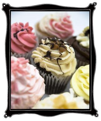 yummy wedding cupcake!
