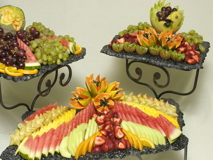 Wedding Catering: Fruit Plates