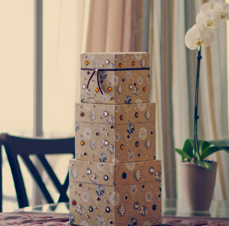 Do-It-Yourself wedding moneybox