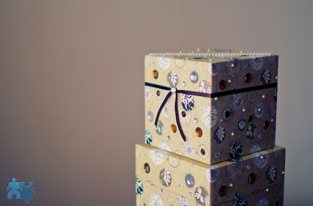 Do-It-Yourself wedding projects: money box