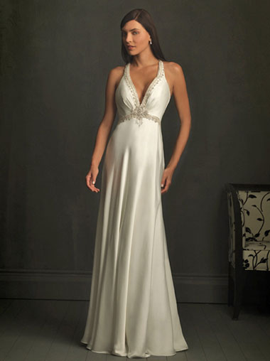 Allure Bridals #8724, ideal for a beach wedding dress