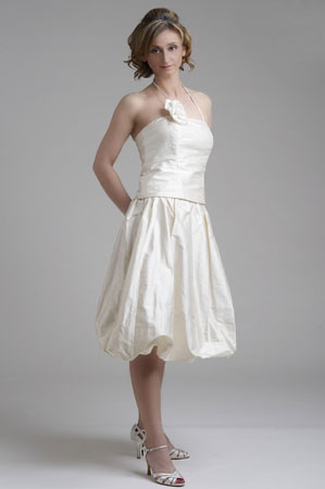 Simple Wedding Dresses in Canada, 2010: Caroline Calvert