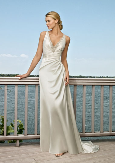 Simple Wedding Dresses in Canada, 2010: Allure Bridals