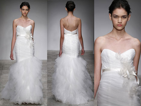 Christos Bridal 2011: 'Lorena' Wedding Dress