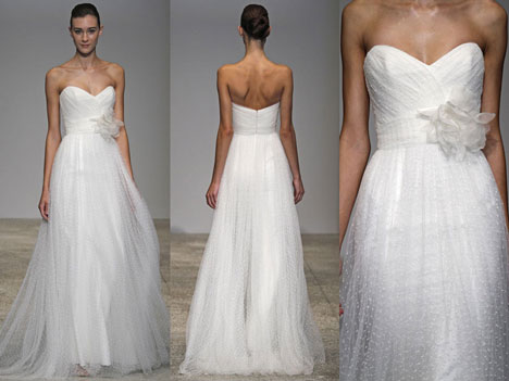 Christos Bridal 2011: 'Zinnia' Wedding Dress