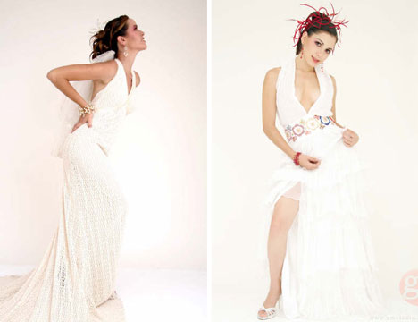 Image of Beauty, Aqua destination wedding dresses