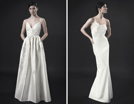 Some more Jason Matlo wedding dresses, from LaNovia, Vancouver