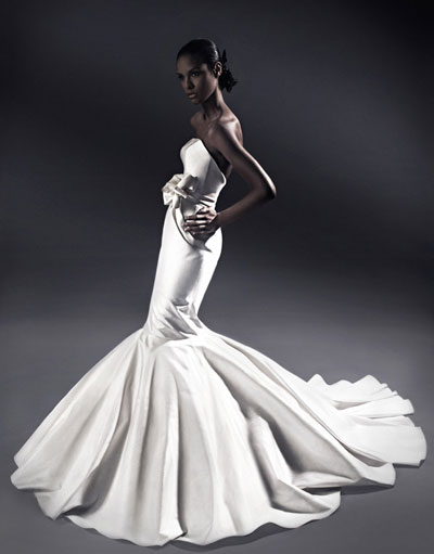 Jason Matlo bridal gown 2010