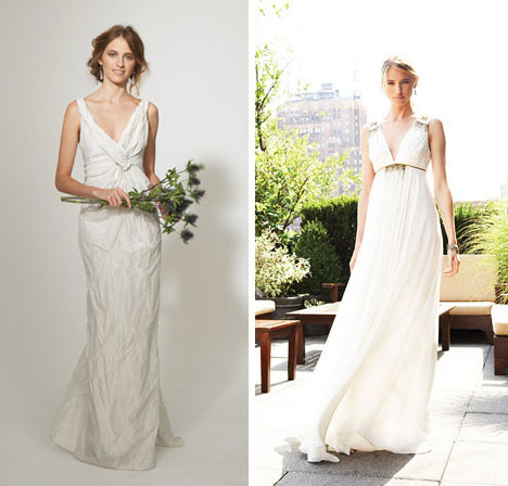 Nicole Miller wedding dresses 2011