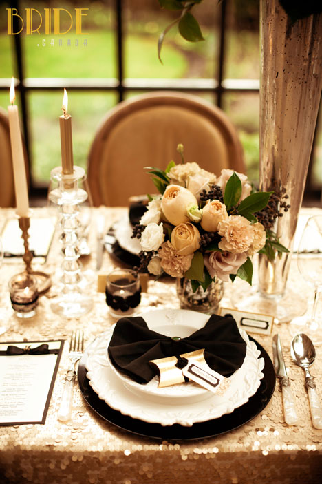 vintage wedding table decor by Kailey Michelle Events Vancouver