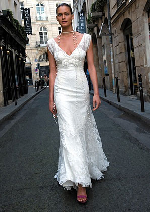 2010 Cymbeline Paris Cadiz wedding dress