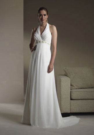 2010 Sincerity wedding gown 3568