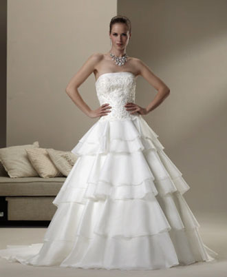 2010 Sincerity wedding dress 3575