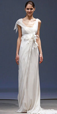 2010 Vera Wang wedding dresses