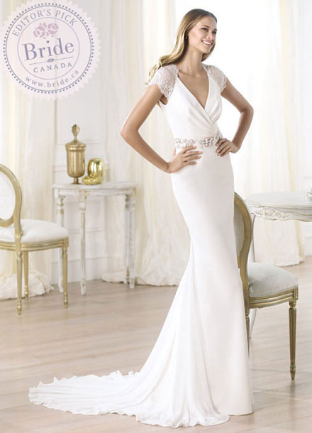 Pronovias Laila Fall 2014 bridal gown