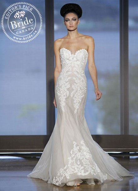 Ines Di Santo : Elisavet, Fall 2014 affordable Canadian wedding dress