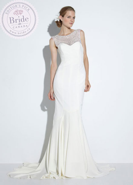 Nicole Miller : Lily wedding dress : Spring 2014 Collection