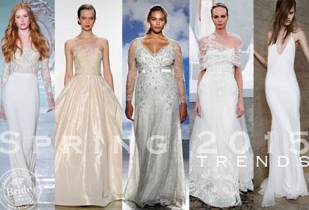Wedding dress trends for 2015