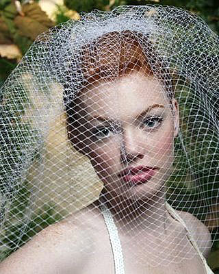 Bridal Fashion Accessories: Birdcage Veil #2