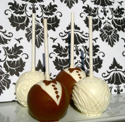 Edible wedding favours: Bernard Callebaut chocolate candy