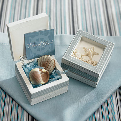 ocean / beach wedding favour