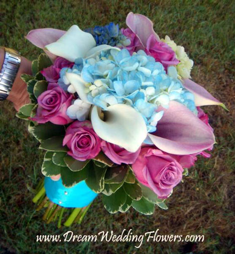 Beidermeier bridal bouquet