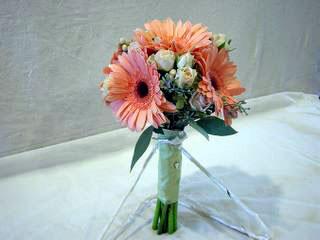 posy bridal bouquet