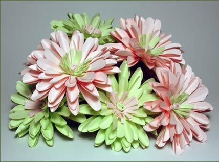 paper hydrangeas, for your wedding flowers