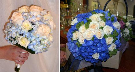 Hydrangea bridal bouquets