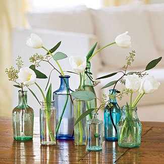 easy and simple, DIY floral wedding centerpieces