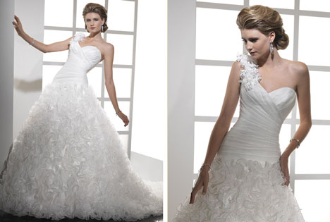 LADonna 2011 wedding dress by Sottero & Midgley