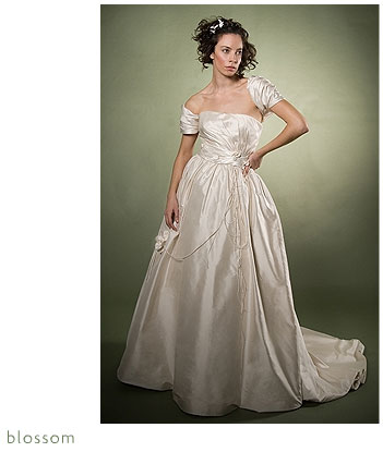 Adele Wechsler Eco-Chic Wedding Dress: Blossom