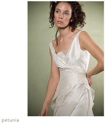 Adele Wechsler Eco-Chic Wedding Dress: Petunia