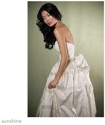 Adele Wechsler Eco-Chic Wedding Dress: Sunshine