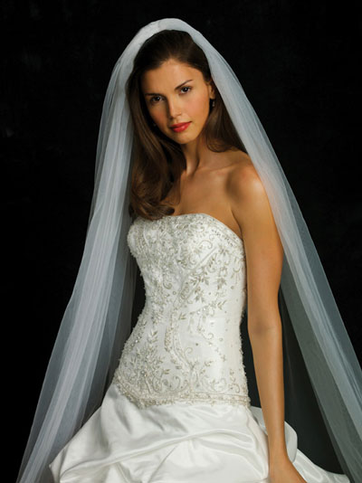 Allure Bridals 2010 bridal gown style 8669