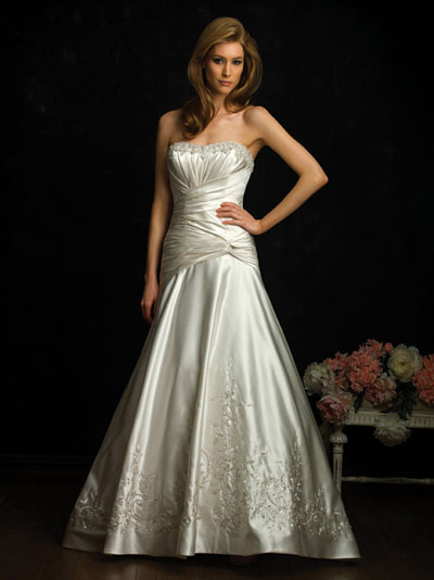 Allure Bridals 2010 bridal gown style 8671