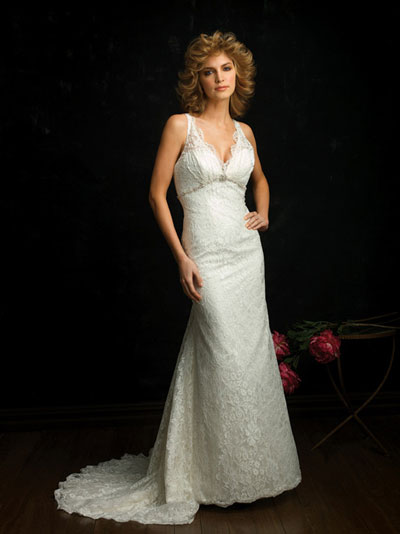 Allure Bridals 2010 bridal gown style 8672