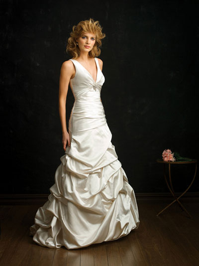 Allure Bridals 2010 bridal gown style 8679