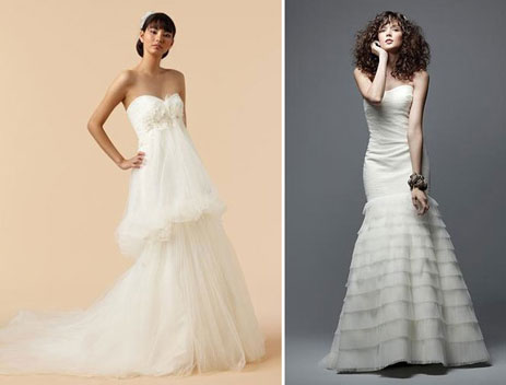 More high-end wedding gowns in Vancouver (Bisou Bridal)