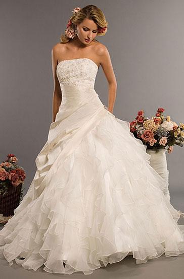 Eden Bridals 2010 wedding gown style #2329
